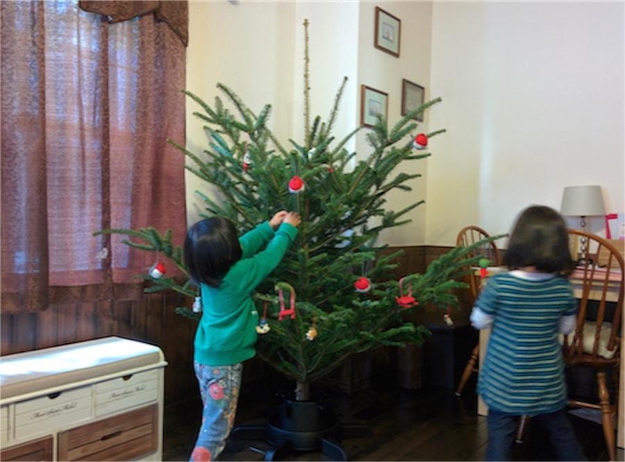 イケア仙台のクリスマスツリー