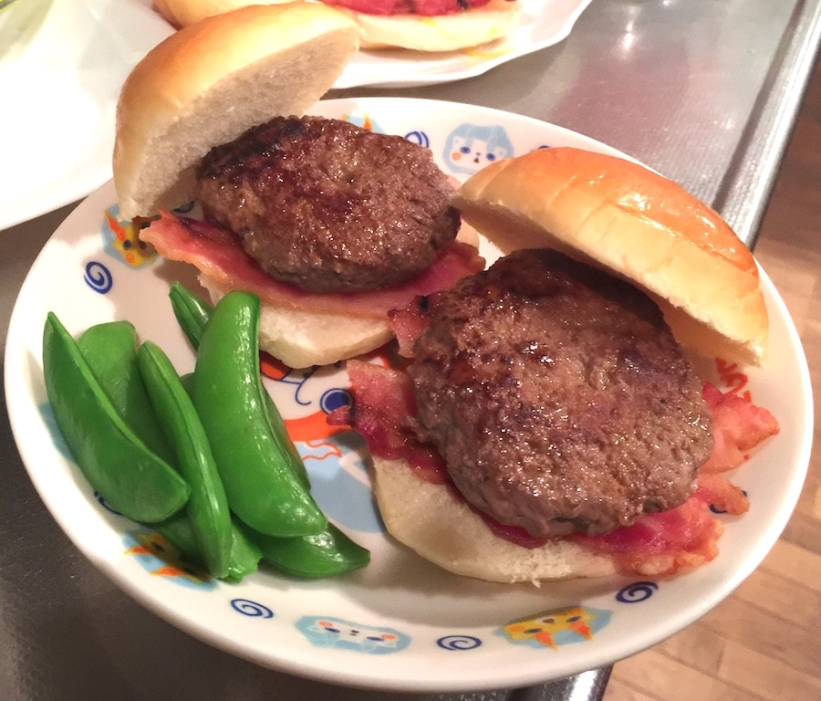 "Mike's recipe ""American Hamburger"""