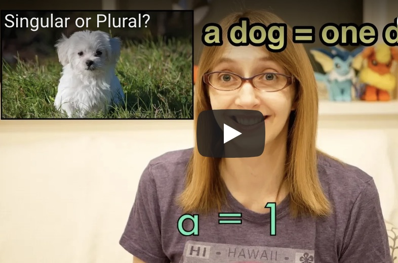 Singular or Plural? 単数形、複数形を練習しましょう!