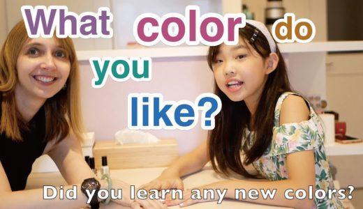 【語彙】Nail Polish Colors!