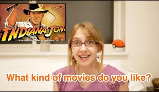 【語彙】Movie Genres|どんな映画がお好きですか?